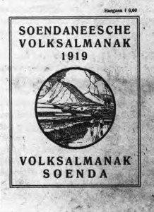 Omslag Soendaneesche Volksalmanak (1919)