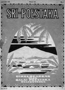Omslag Sri Poestaka (1930)