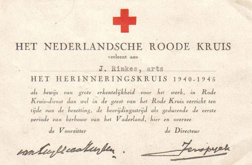 Rode Kruis Herinneringskruis